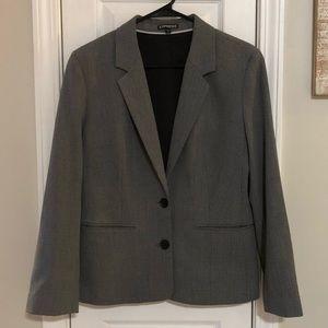 Women's Grey Blazer from Express